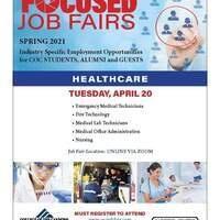 COC Focused Job Fair - Healthcare