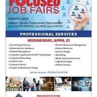 COC Focused Job Fair - Professional Services