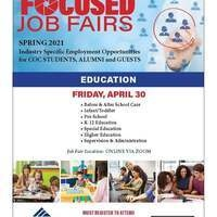 COC Focused Job Fair - Education