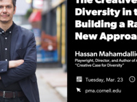 """Public Talk with Hassan Mahamdallie """"The Creative Case for Diversity: Building a Radical New Approach"""""""