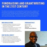 Free Webinar: Fundraising and Grantwriting in the 21st Century