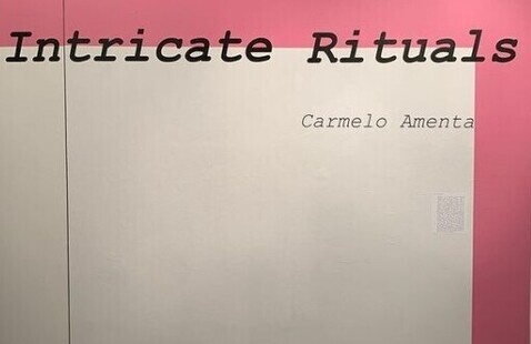 School of Art + Design presents: Intricate Rituals, MFA Thesis Show by Carmelo Amenta