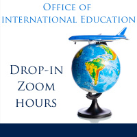 Office of International Education: Zoom Drop-in Hours