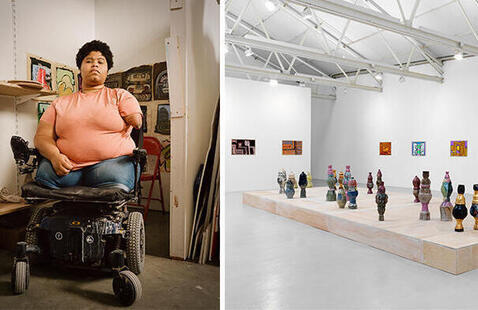 Shawanda Corbett - The Artist's Studio