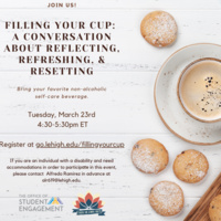 Filling Your Cup: A Conversation About Reflecting, Refreshing and Resetting | Wellness Week