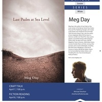 Meg Day, MLW Visiting Writers Series, April 7-8, 2021