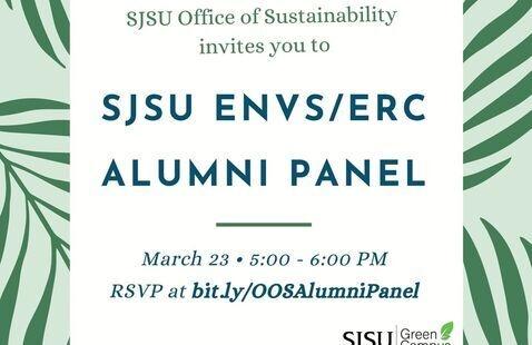 SJSU ERC/ENVS/Sustainability Alumni Meet