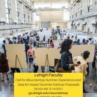 Lehigh Faculty--A Call for Mountaintop Summer Experience and Data for Impact Summer Institute Proposals