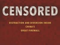 """book cover of """"Censored: Distraction and Diversion Inside China's Great Firewall"""" by M. Roberts"""