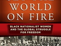 """book cover of """"Set the World on Fire"""" by K. Blain"""