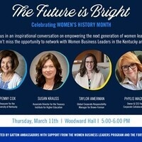 The Future is Bright- Women's History Month Discussion