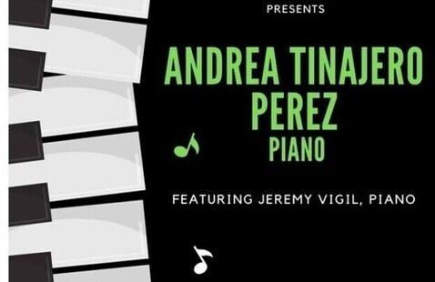 Andrea Tinajero Perez: Piano Recital
