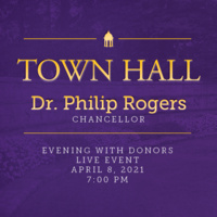 Town Hall - Dr. Philip Rogers - Evening with Donors
