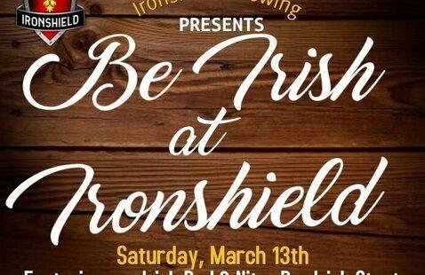Be Irish at Ironshield poster
