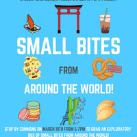 Student Engagement, Res Life + Bon Appetit Present: Small Bites From Around the World