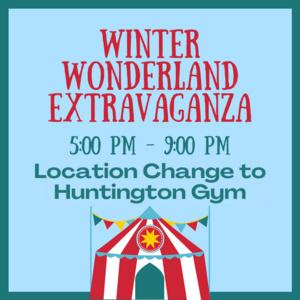 Location Change: Winter Wonderland Extravaganza
