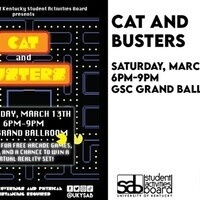 SAB Presents: Cat & Busters