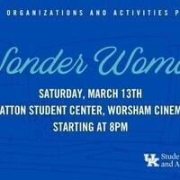 SOA's Cinema Series: Wonder Woman