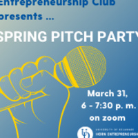 spring pitch party graphic