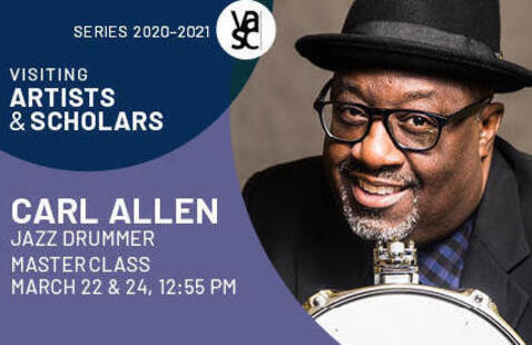 2021 Athens Jazz Festival presents: Online lecture by Carl Allen