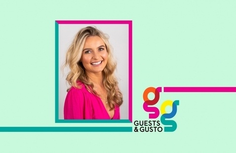 Be the bold type with graphic designer and branding mastermind Kristy Hill on 'Guests and Gusto'