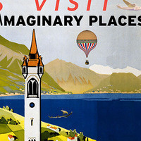 Library Exhibit: Visit Imaginary Places!