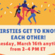 """""""Firsties Get to Know Each Other"""" at the Betty Shabazz Cultural Center!"""