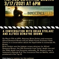 The Exoneration of Alfred Dewayne Brown: A Conversation with Brian Stolarz and Alfred Dewayne Brown