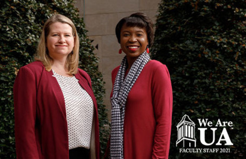 We Are UA 2021 Ambassadors, Sarah Barry and Dr. Victoria Lewis
