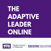 The Adaptive Leader Online - 6 weeks- Jul 13 to Aug 24
