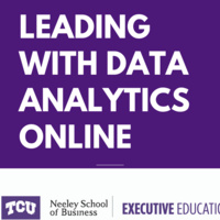 Leading with Data Analytics Online - Aug 16 to 19