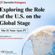 Dornsife Dialogues: Exploring the Role of the U.S. on the Global Stage