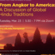 Anjali Lecture in Hindu Studies: Global Hindu Traditions: From Angkor to America