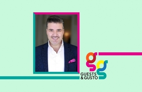 Define distinctive style with interior designer and SCAD grad Enrique Crespo on 'Guests and Gusto'