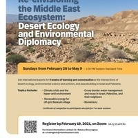 Re-envisioning the Middle East Ecosystem: Desert Ecology and Environmental Diplomacy