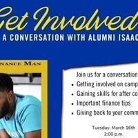 """Why Get Involved- A Conversation with Alumni Isaac Epps """"The Finance Man"""""""