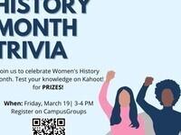 Women's History Month Trivia