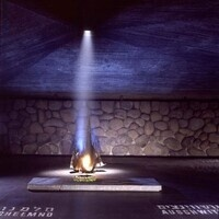 Eternal Flame in the Hall of Remembrance at Yad Vashem