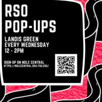 RSO Pop-up