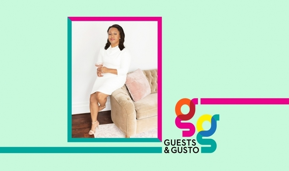 Make an impression with Estelle Colored Glass founder Stephanie Hall on 'Guests and Gusto'