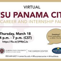 FSU Panama City Virtual Career & Internship Fair
