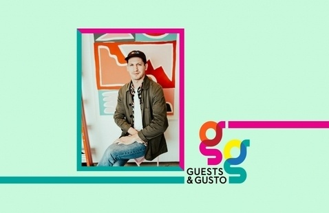 Design for dope brands with artist Will Bryant on 'Guests and Gusto'