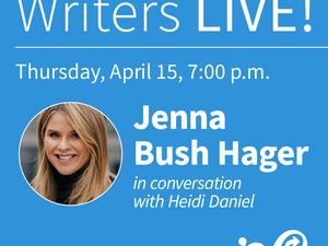 Writers LIVE! Jenna Bush Hager