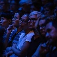 Ai Weiwei talk Sydney Opera House. Credit: Daniel Boud