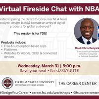 "Virtual ""Fireside Chat"" with NBA Emerging Tech Executive VP"