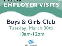 Virtual Employer Visits - Boys and Girls Club of America