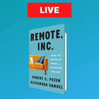 Remote Inc. Live on LinkedIn with MIT Sloan Executive Education