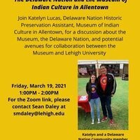 The Delaware Nation and the Museum of Indian Culture in Allentown | College of Health
