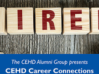 CEHD Alumni Group Presents: Career Connections