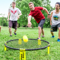 Spikeball Club Practice